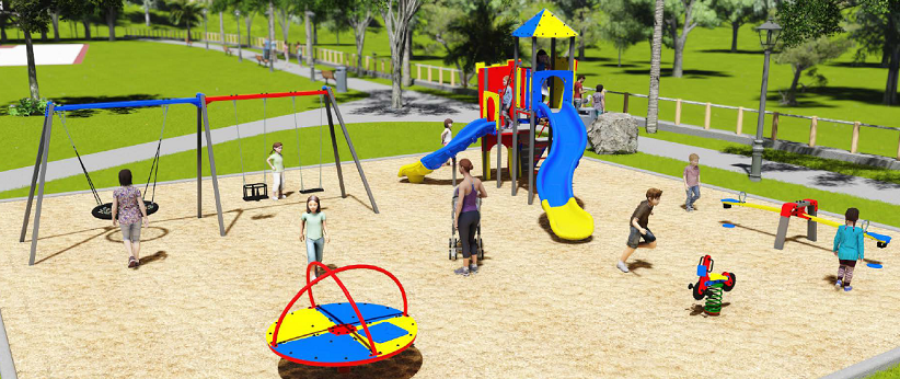 Daphne Park Playground Design Concept by Super Playgrounds