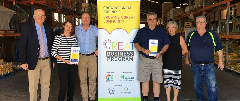 Great Business Program at Wellington