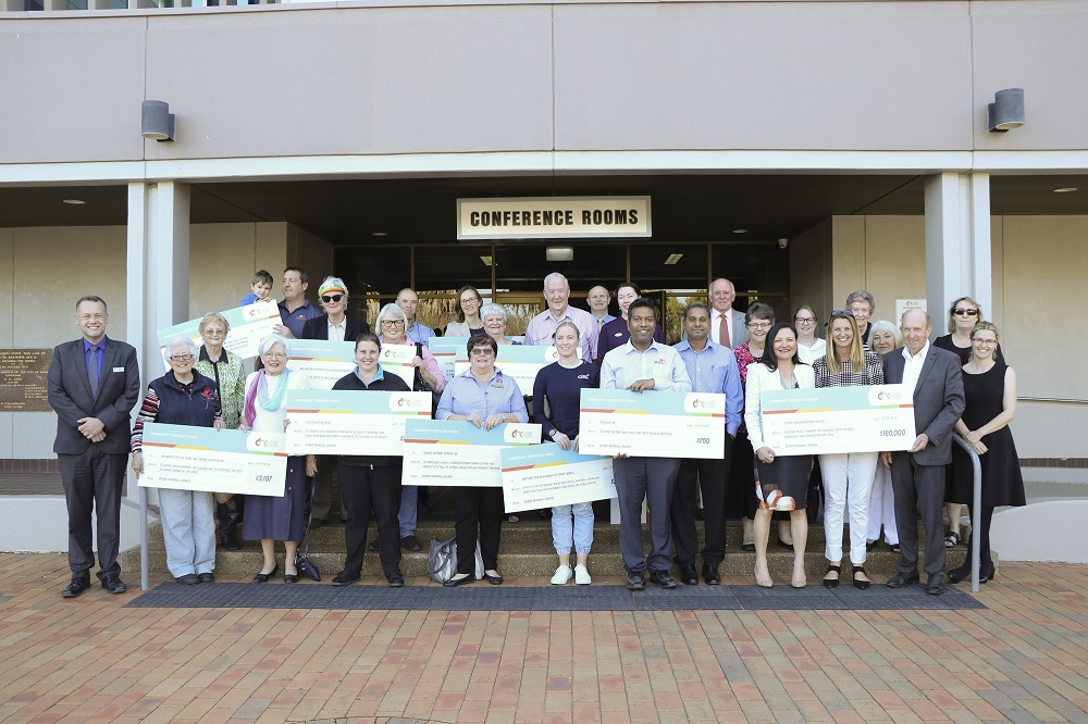 Comm Services Fund - 2018 Grant Presentation group photo
