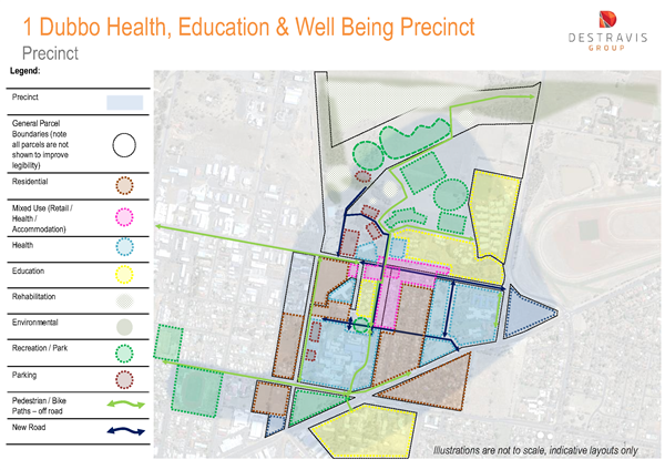 Dubbo Health Precinct_Precinct Map
