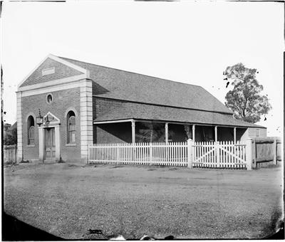 Exchange Hotel Dubbo, c. 1870, State Library NSW