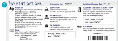 Payment options graphic