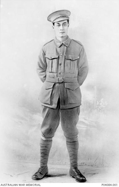 Private Thomas Cohen Australian War Memorial Portrait Public Domain