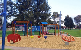 Lunar Park Playground Design Option by Imagination Play