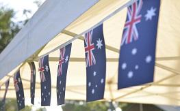 Australia Flag bunting
