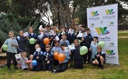 Wellington school children prepare to celebrate the bicentenary