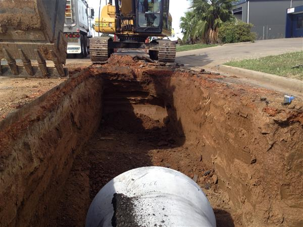 North Dubbo Stormwater System Construction