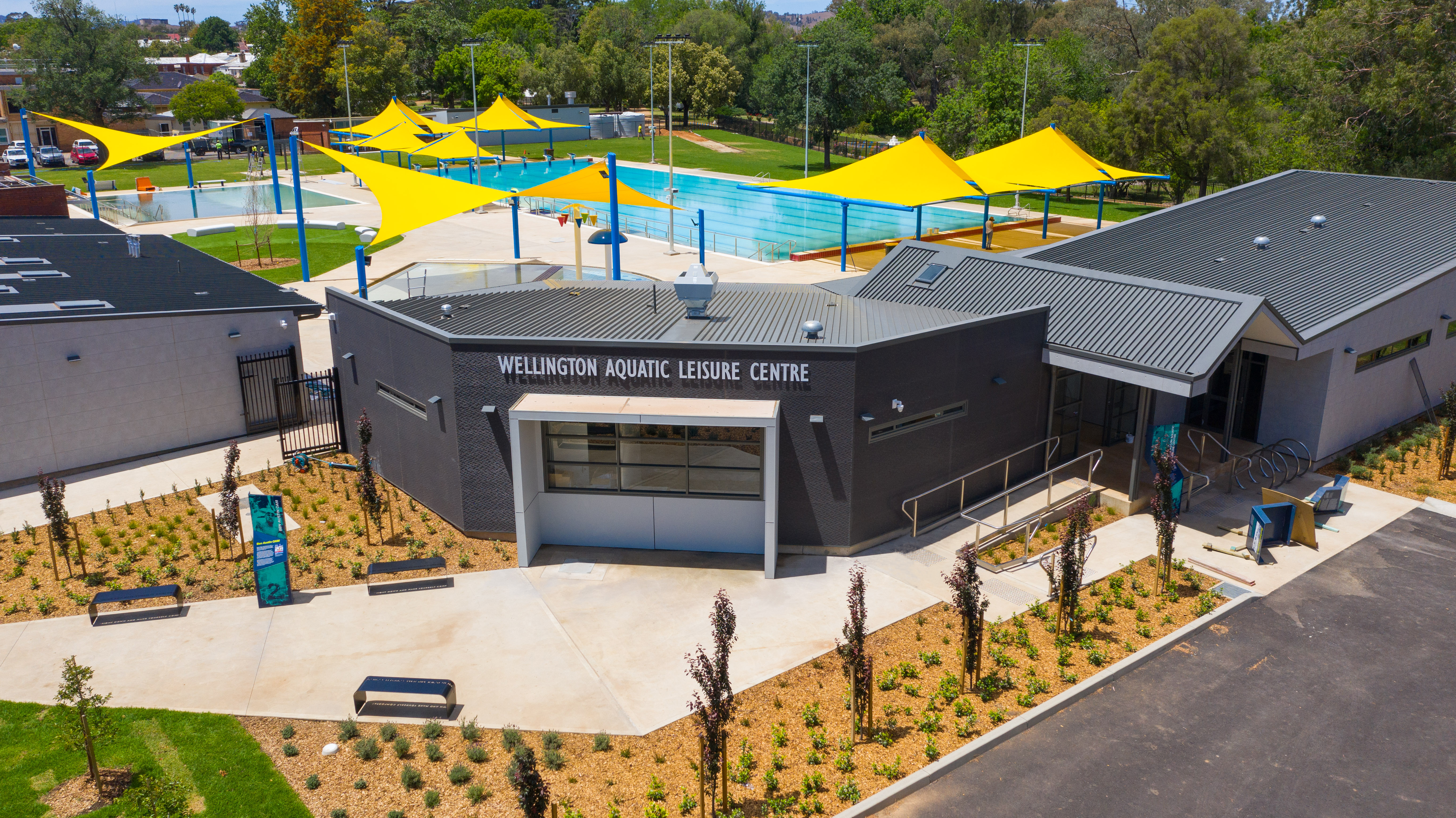 Why not visit our superb new aquatic centre in Wellington?